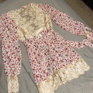 NWT Victoria's Secret Melrose floral robe